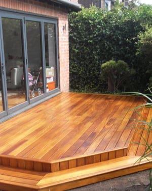 garden decking - AM Floor Sanding